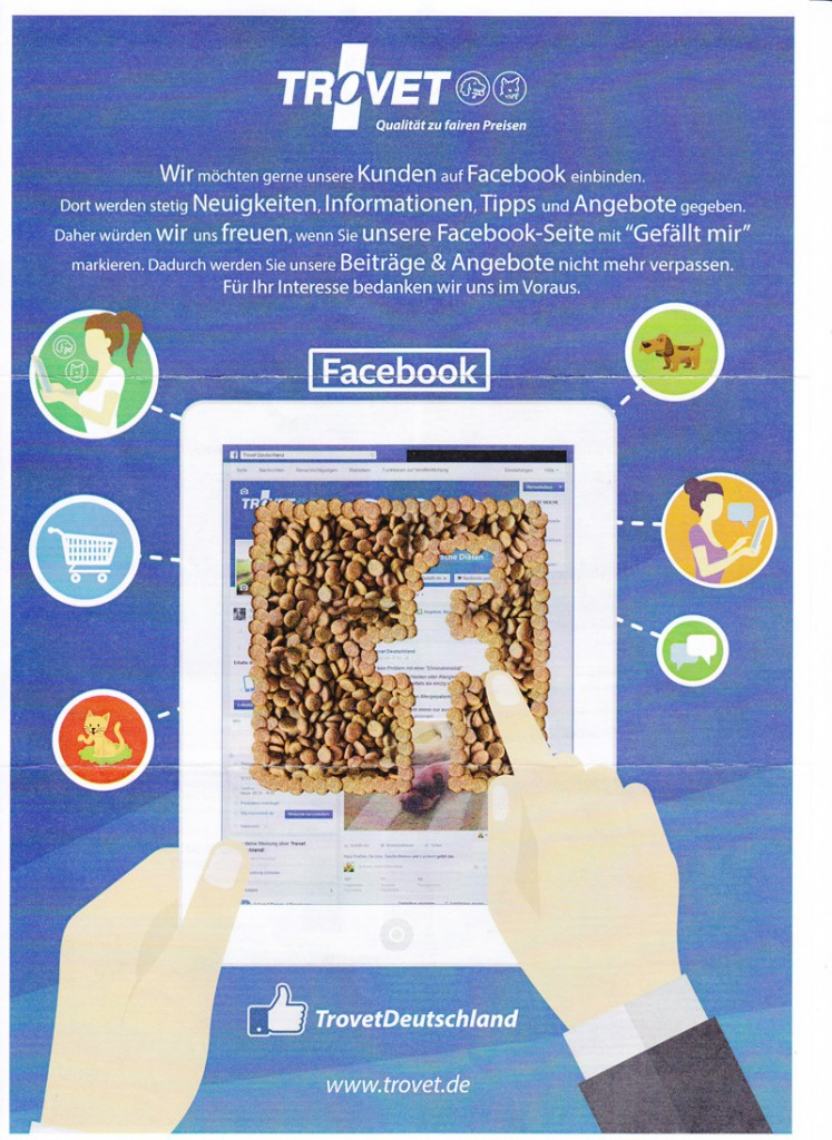 Trovet Facebook Seite1