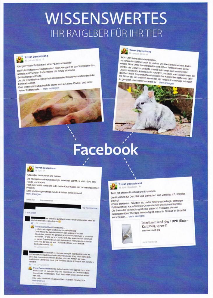Trovet Facebook Seite2