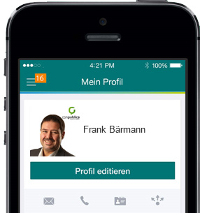 XING Profil-App
