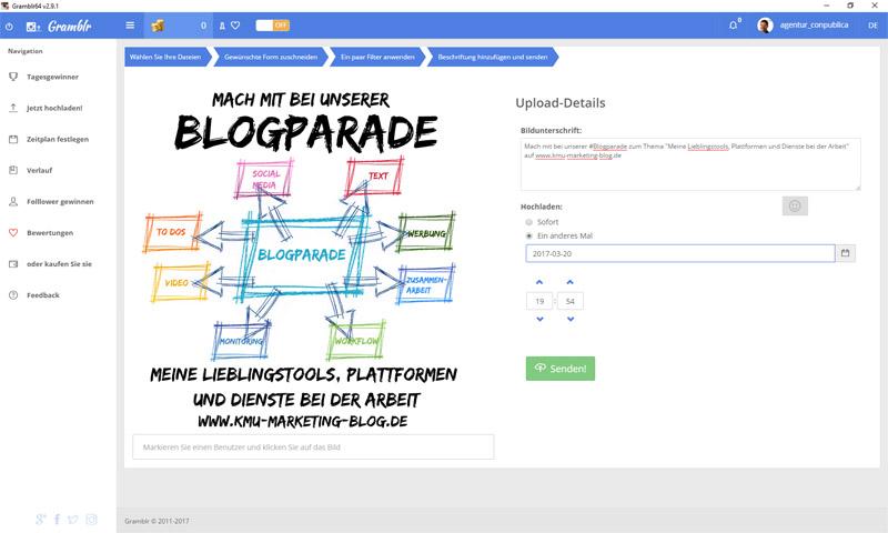 Blogparade – Meine Lieblingstools, Plattformen und Dienste bei der