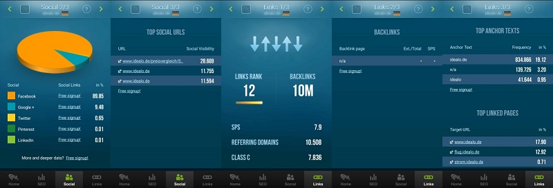 seo-und-link-analyzer-app